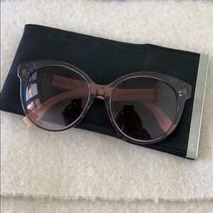 Fendi Gorgeous Pink and Grey Sunglasses
